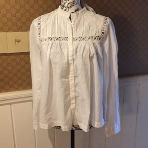Gap nwt cotton shirt small